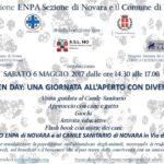 ATTENZIONE CAUSA MALTEMPO L'EVENTO NON SI SVOLGERÀ:Open day Canile Novara: 6 maggio 2017