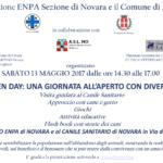 13 Maggio 2017: Open Day Canile Rifugio e Canile Sanitario di Novara